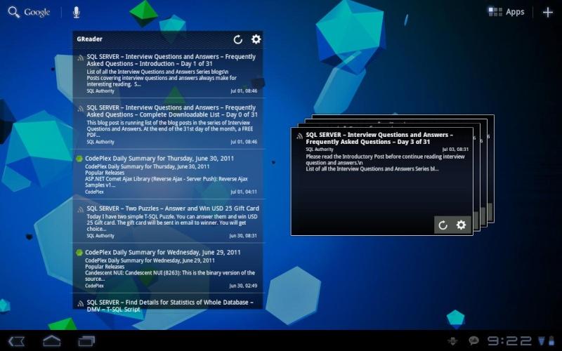 [WIDGET] WIZZ WIDGET : une collection de widgets très pratique pour votre tablette [Gratuit/Payant] Ss-12810