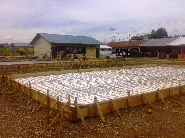 Projek pembinaan bangunan kelas 'kabin' 14052010