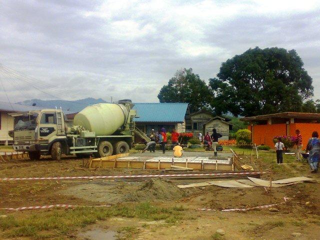 Projek pembinaan bangunan kelas 'kabin' 14052011