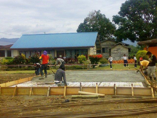 Projek pembinaan bangunan kelas 'kabin' 14052012