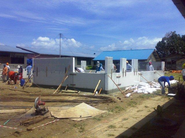 Projek pembinaan bangunan kelas 'kabin' 15052014