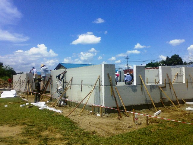 Projek pembinaan bangunan kelas 'kabin' 15052019