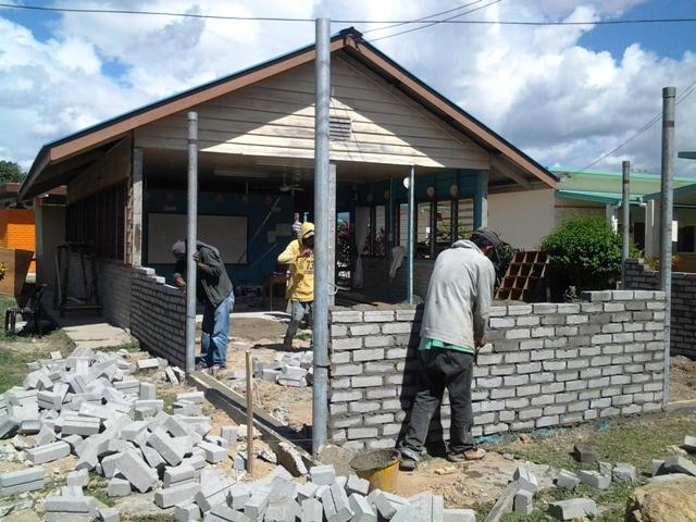 Pengubahsuaian bilik KH ke Pusat Sumber Sekolah -nov2012 20121112
