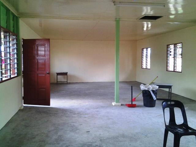 Pengubahsuaian bilik KH ke Pusat Sumber Sekolah -nov2012 20121118