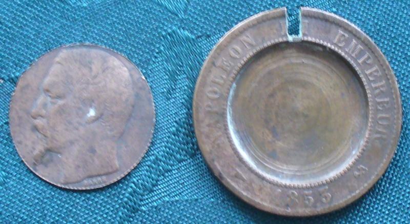 5 Francs - Louis XVIII - 1817  K - Boite de Forçat P1110612