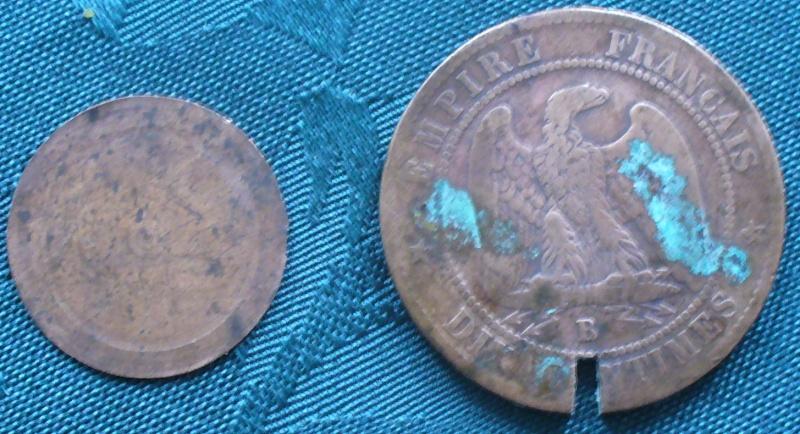 5 Francs - Louis XVIII - 1817  K - Boite de Forçat P1110613