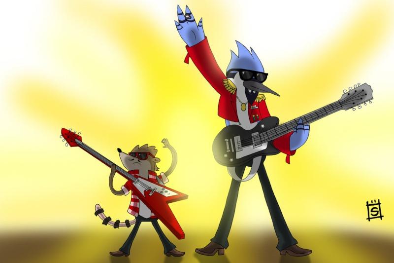 Mordecai y los Rigbys Party Tonight Mordec10