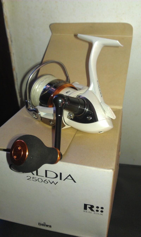 Vends Moulinets spinning Daiwa Caldia Custom 2004 et 2506W Imag0211