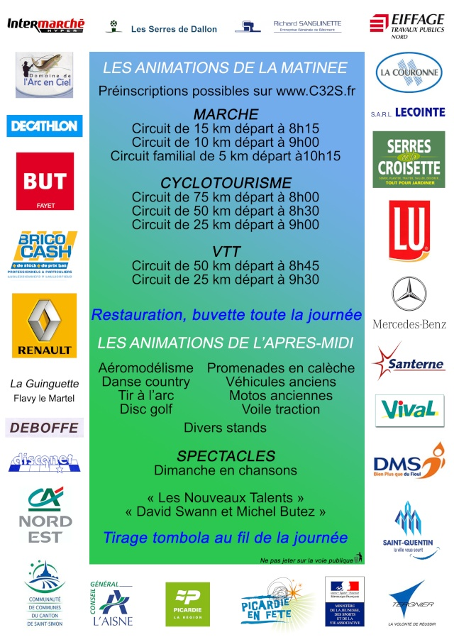 Fête sportive et champêtre Clastres 04/09/2011 Verso110