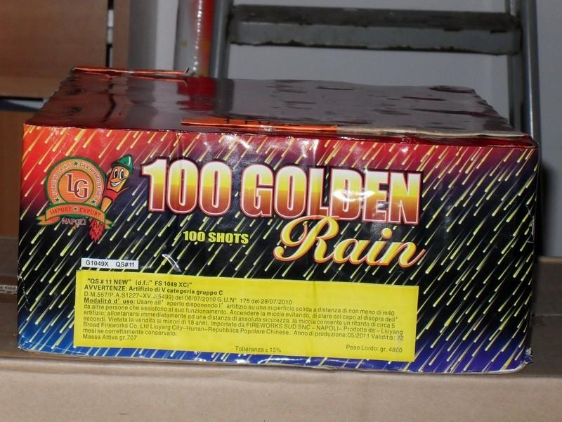 100 colpi Golden Rain lg Dettag14