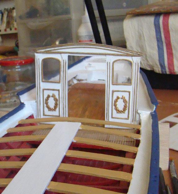le canot Imperial de Napoleon Cabine10