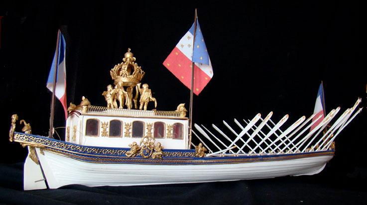 le canot Imperial de Napoleon Canot310
