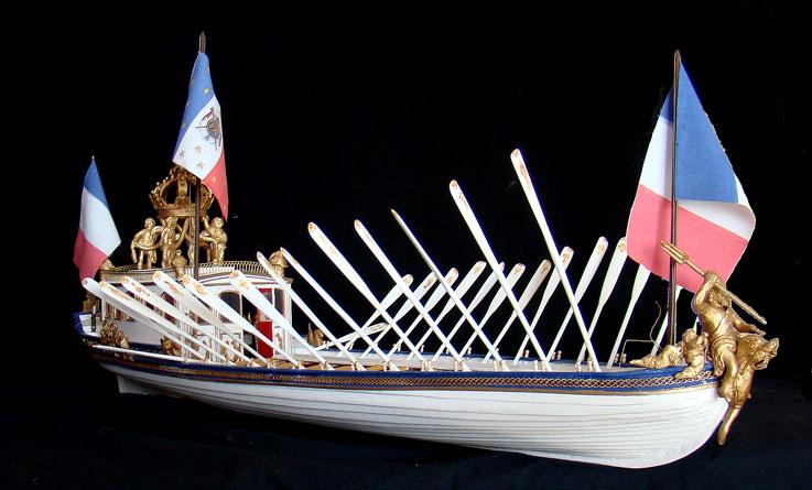 le canot Imperial de Napoleon Canot410