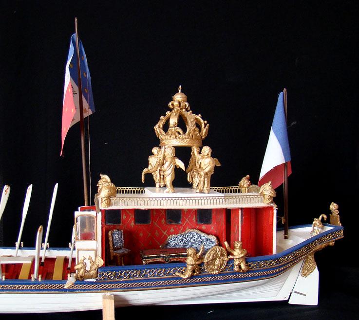 le canot Imperial de Napoleon Canot510