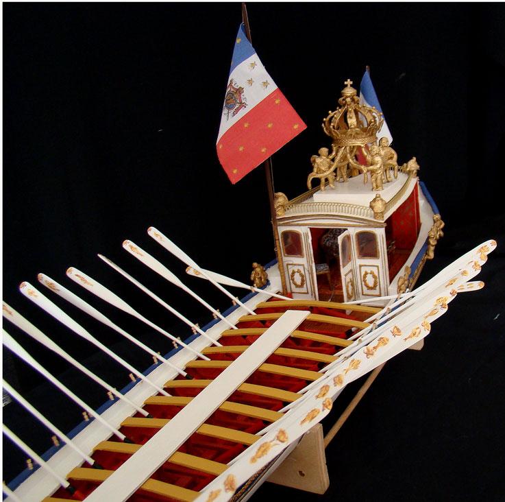 le canot Imperial de Napoleon Canot610
