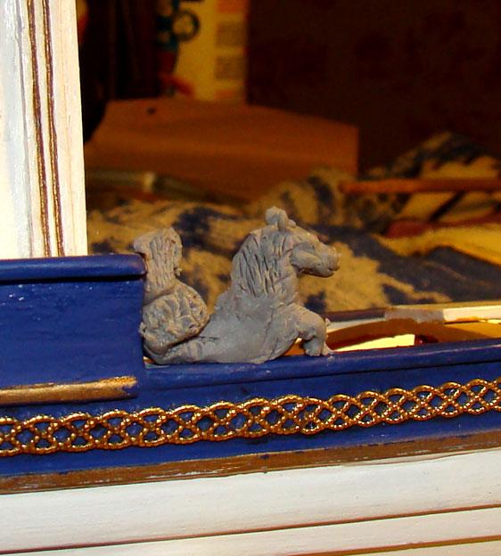 le canot Imperial de Napoleon Cheval12