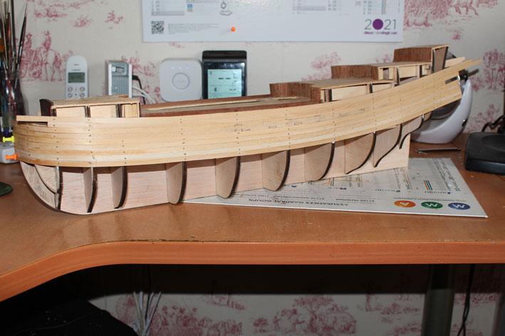 HMS Prince 1670 (Constructo 1/61°) Coque10