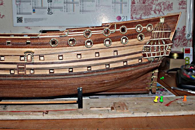 HMS Prince 1670 (Constructo 1/61°) - Page 2 Coque12