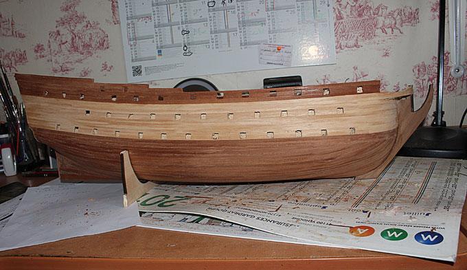 HMS Prince 1670 (Constructo 1/61°) - Page 2 Coque210