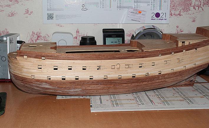 HMS Prince 1670 (Constructo 1/61°) Coque410