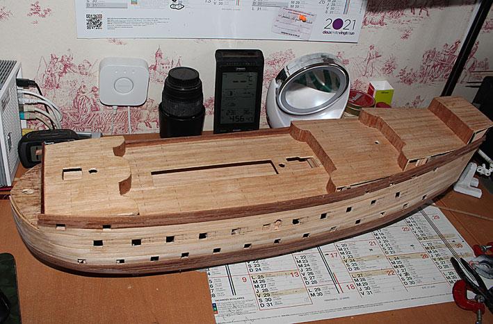 HMS Prince 1670 (Constructo 1/61°) Coque510