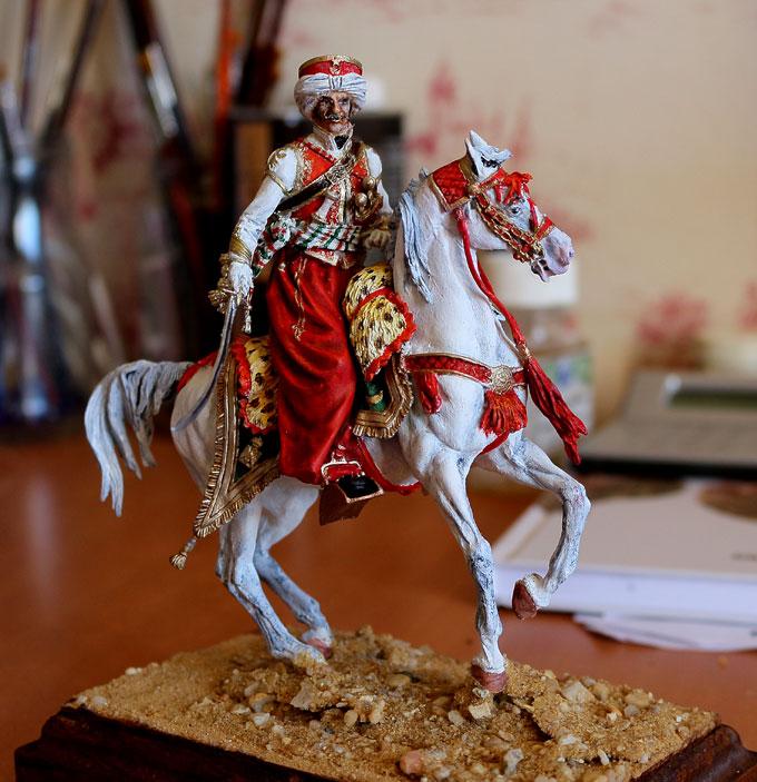 Officier de Mamelouk 1808 (90 mm) Mamelu18