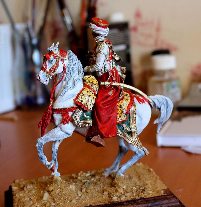 Officier de Mamelouk 1808 (90 mm) Mamelu19