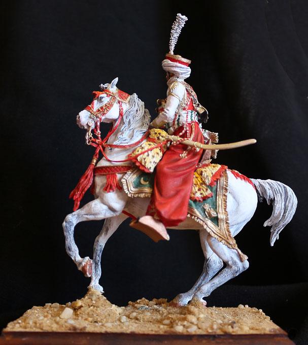 Officier de Mamelouk 1808 (90 mm) Mamelu25