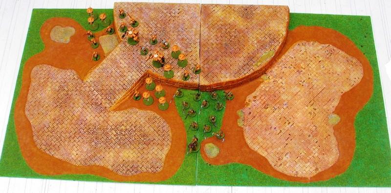 Ronin, le jeu d'escarmouche Samourais Table111