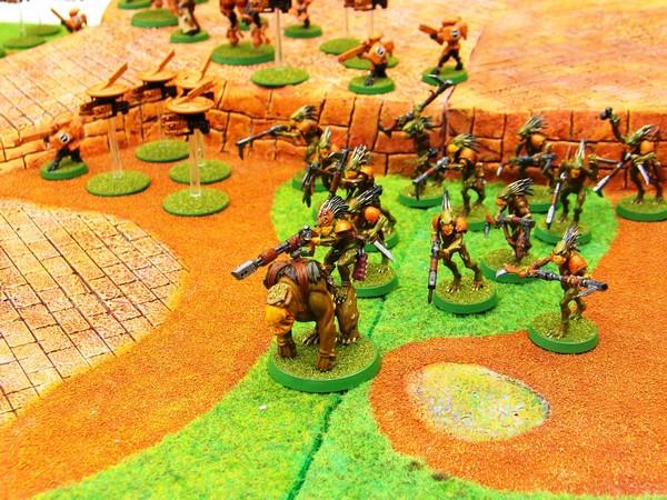 Ronin, le jeu d'escarmouche Samourais Table112
