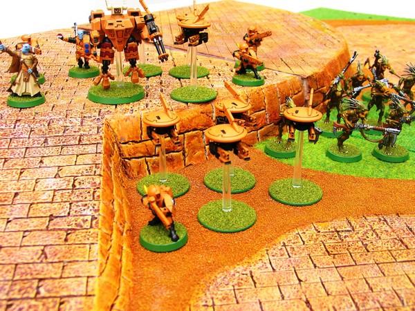 Ronin, le jeu d'escarmouche Samourais Table114