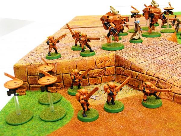 Ronin, le jeu d'escarmouche Samourais Table115