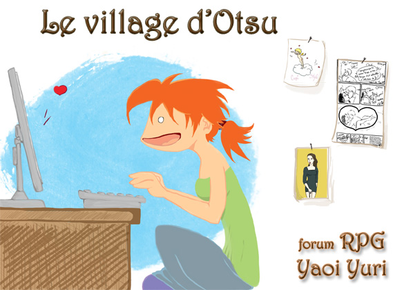 ♦ Le village d'Otsu ♦ Forum RPG Yaoi & Yuri Entete10