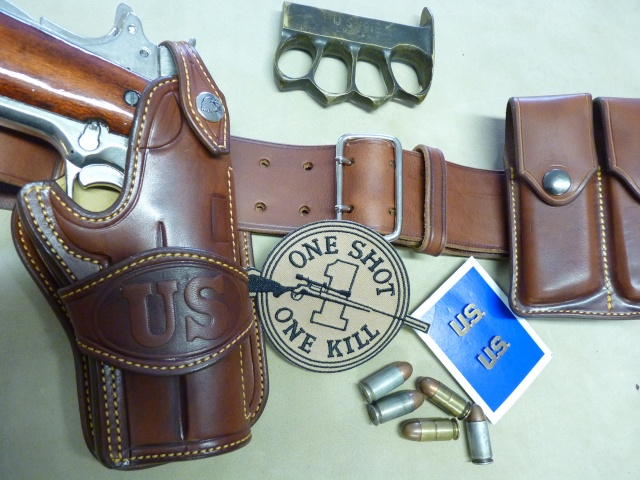 "The ""WILD BUNCH"" I.S HOLSTER by SLYE P1050625"