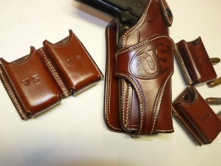 """COLT 45 "" WILD BUNCH HOLSTER by SLYE P1080664"