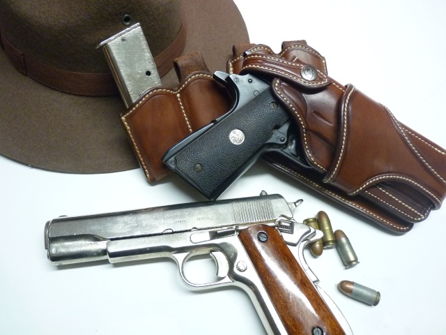 """COLT 45 "" WILD BUNCH HOLSTER by SLYE P1100512"