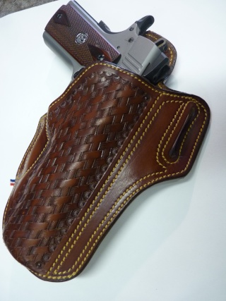 HOLSTER pour RUGER 1911 by SLYE P1100528