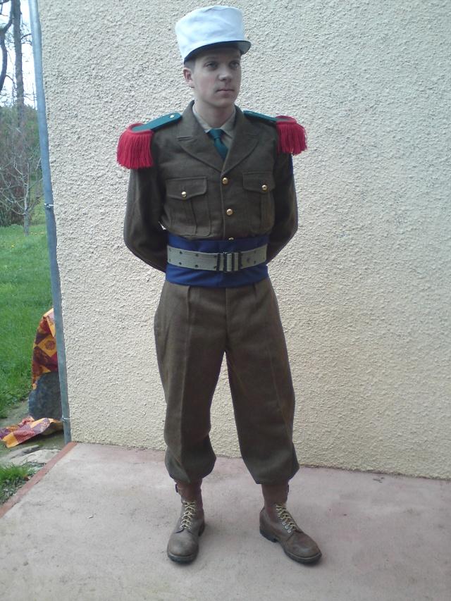 Tenue de parade Légionnaire 54-62 Dsc00129