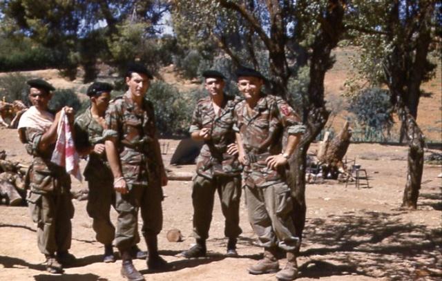 Tenue commando de chasse L124, 51ème R.I. 1959, Kabylie. - Page 2 Mechou11