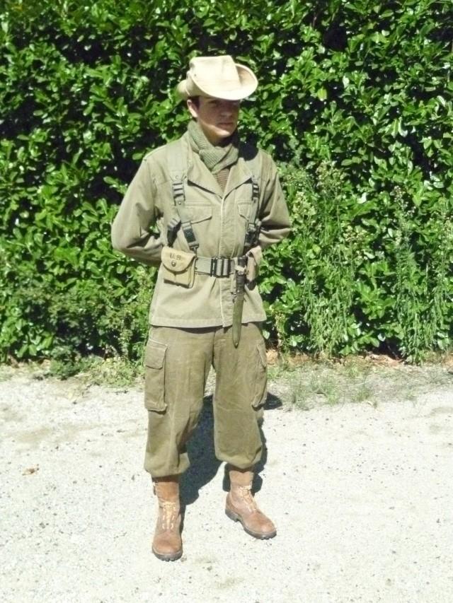 Tenue commando de chasse L124, 51ème R.I. 1959, Kabylie. P1010214