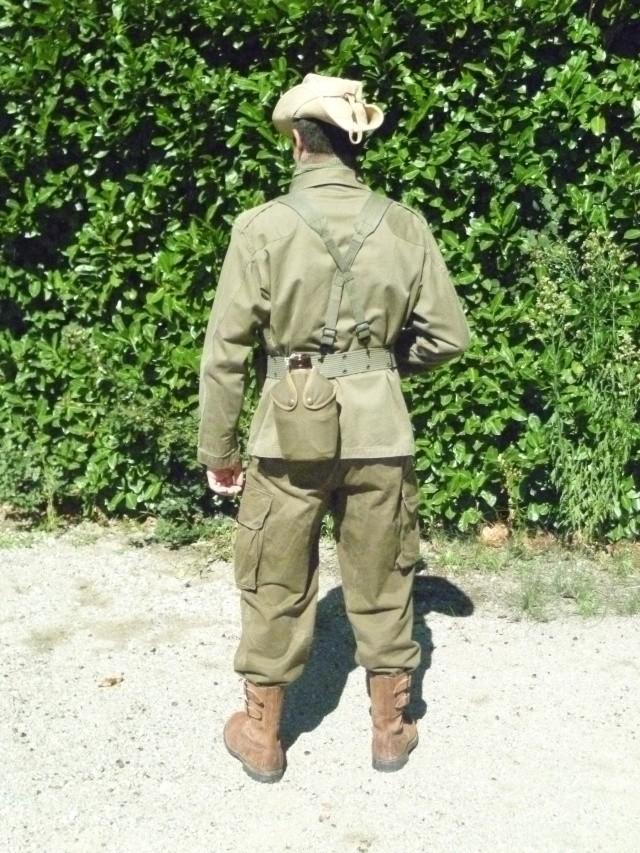 Tenue commando de chasse L124, 51ème R.I. 1959, Kabylie. P1010216