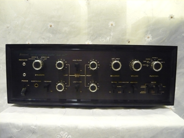 Sansui AU 777 solid state amplifier (used) SOLD P1060824