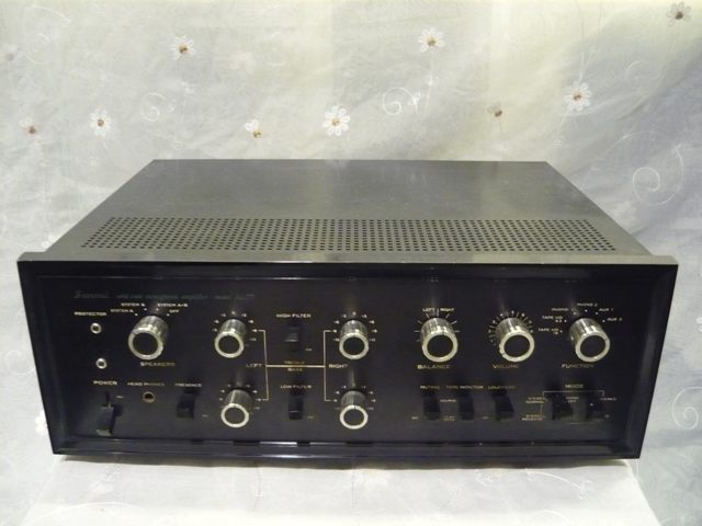 Sansui AU 777 solid state amplifier (used) SOLD P1060825