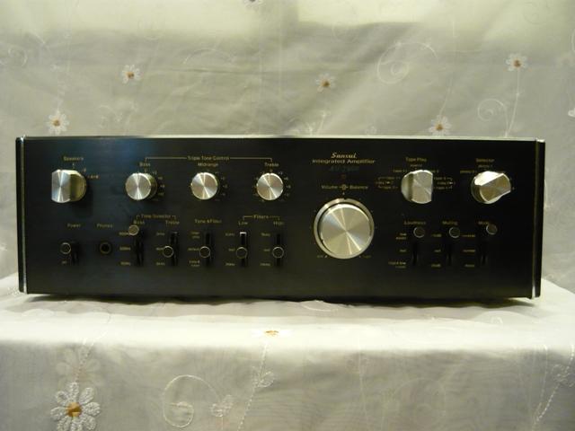 Sansui AU 7900 amplifier (used) SOLD P1060910