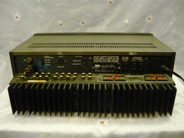 Sansui AU 7900 amplifier (used) SOLD P1060912