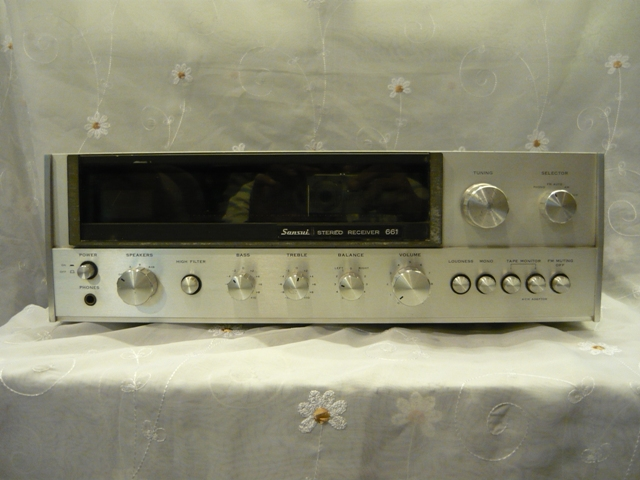 Sansui 661 receiver amplifier (used) SOLD P1060913