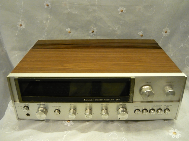 Sansui 661 receiver amplifier (used) SOLD P1060914