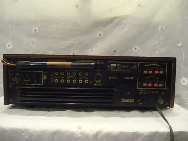 Sansui 661 receiver amplifier (used) SOLD P1060915