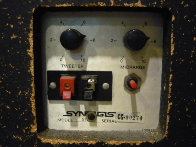 Synergistics Floorstand speaker (used) SOLD P1060921