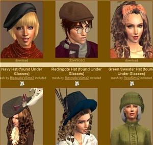 Головные уборы, шляпы - Страница 2 Djg128